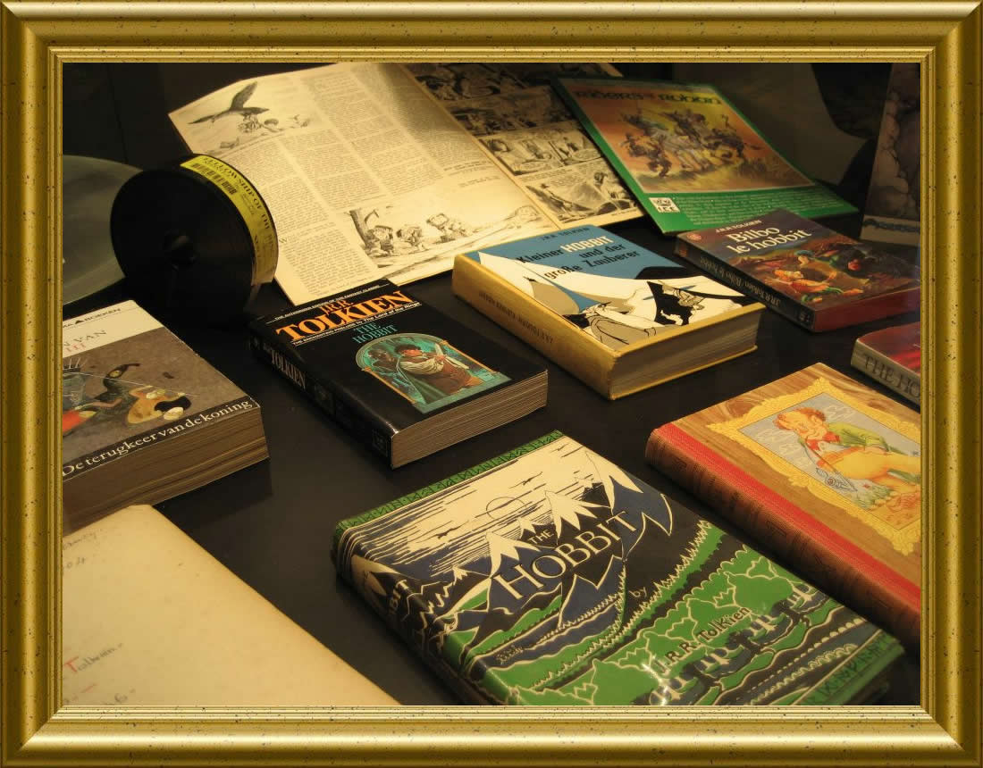Tolkien book collection